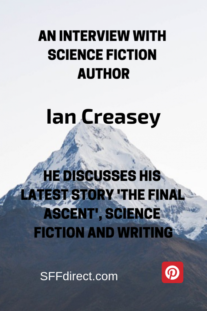 Interview with Ian Creasey
