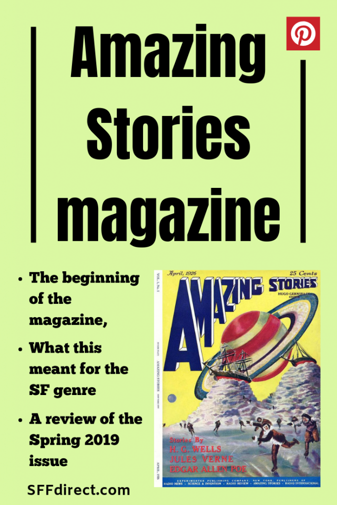 Amazing Stories magazine past and present - science fiction - review of current issue