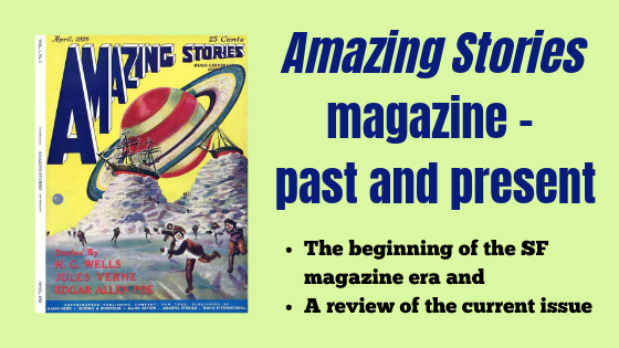 Amazing Stories science fiction magazine