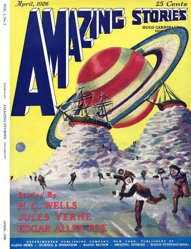 Amazing Stories magazine first issue