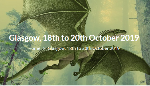Fantasycon Glasgow 2019 fantasy convention