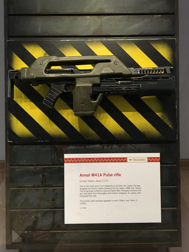 Leeds Royal Armouries Aliens weapon