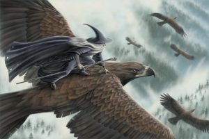 eagles lotr. Animals in science fiction and fantasy