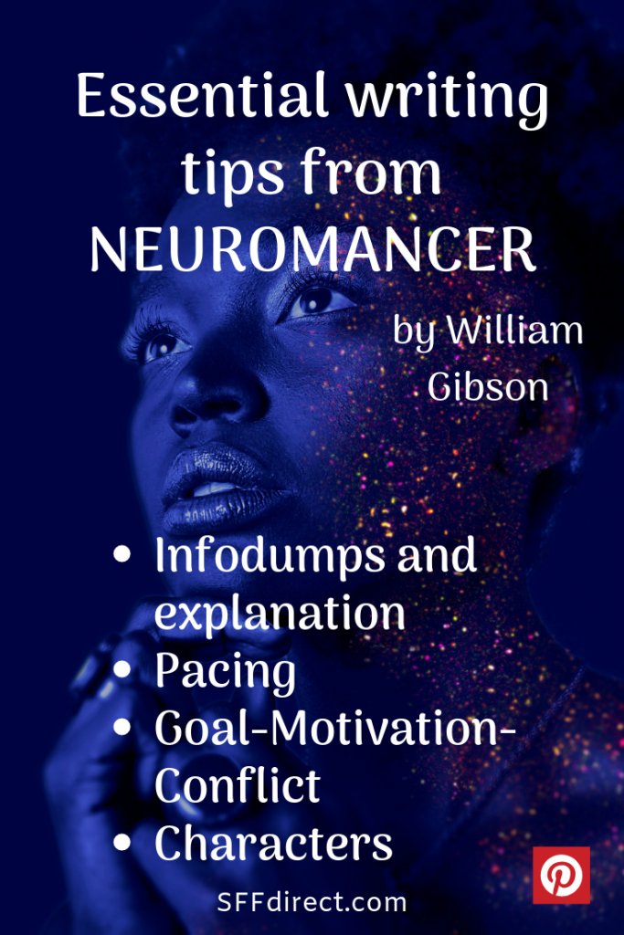 Neuromancer writing tips. Writing tips from Neuromancer.