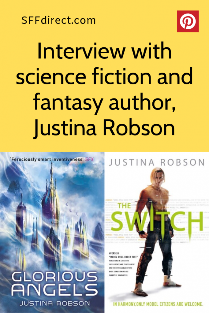 Justina Robson interview for SFFdirect.com