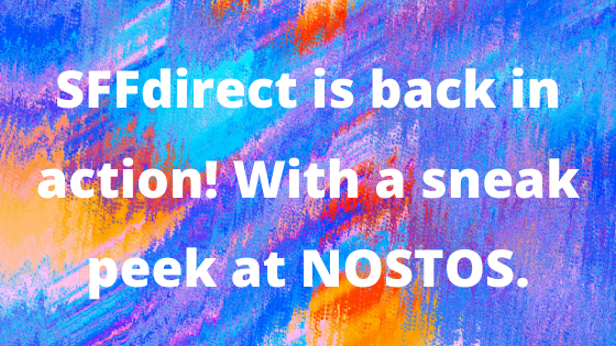 SFFdirect is back in the fray! With a sneak peek at NOSTOS
